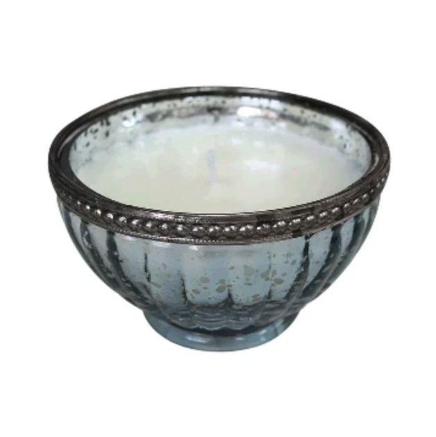 LaVida: Candle Ribb Bowl - Sky