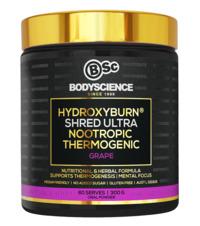 BSc Bodyscience HydroxyBurn SHRED Ultra – Grape