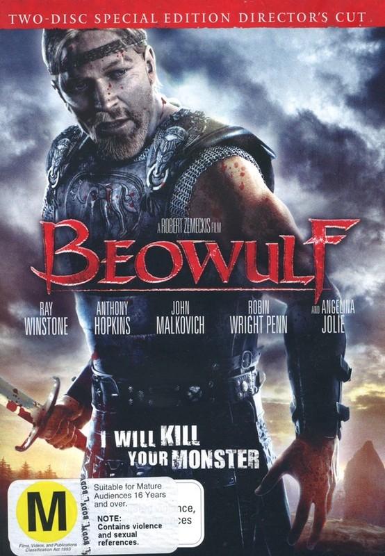 Beowulf - Director's Cut (2 Disc Set) on DVD