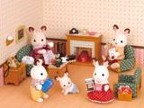 Sylvanian Families: Deluxe Living Room Set