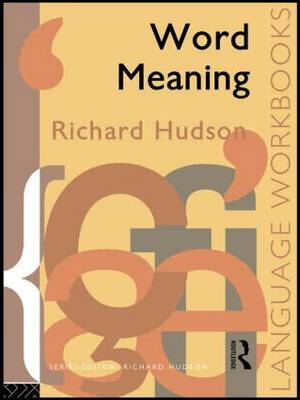 Word Meaning by Richard Hudson image