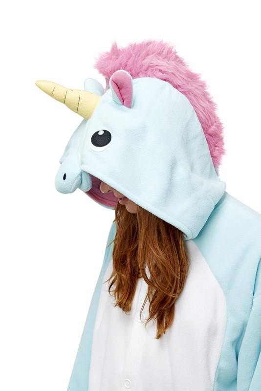 8febb295f995 Blue Unicorn Kigu - Adult Onesie