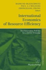 International Economics of Resource Efficiency