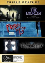 Exorcist, The / Friday The 13th / Poltergeist - Triple Feature on DVD