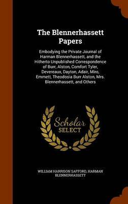 The Blennerhassett Papers by William Harrison Safford image
