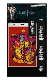 Harry Potter: Lanyard with Rubber Keychain - Gryffindor