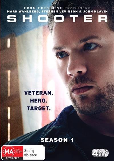 Shooter - Season 1 on DVD