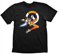 """Overwatch T-Shirt """"Tracer Hero"""", M"""