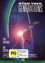 Star Trek: Generations on DVD