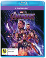 Avengers: Endgame on Blu-ray