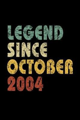 Legend Since October 2004 by Delsee Notebooks