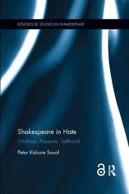 Shakespeare in Hate by Peter Kishore Saval