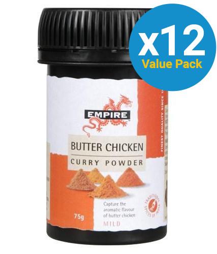 Empire: Butter Chicken Curry 75g (12 Pack)