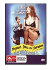 Yesterday, Today And Tomorrow on DVD