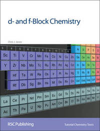 d- and f-Block Chemistry by Chris J. Jones image
