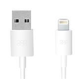 1.2M Promate USB Sync and Charging Cable - White