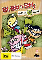 Ed, Edd N Eddy - Complete Season 1 (2 Disc Set) on DVD