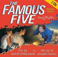 Five Go Adventuring Again: AND Five Go to Demon's Rocks by Enid Blyton image