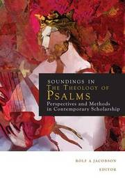 Sounding in the Theology of Psalms by Rolf A. Jacobson