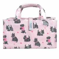 Wicked Sista Large Handle Cosmetic Bag - Scotty Dogs
