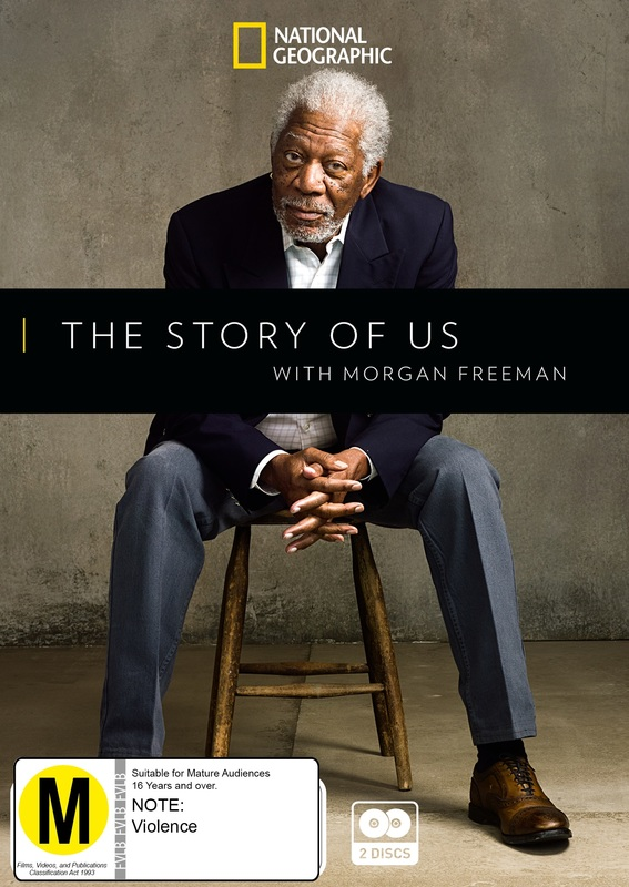 The Story Of Us With Morgan Freeman on DVD
