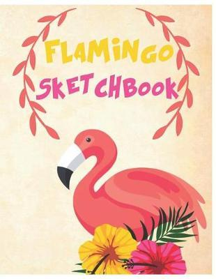 Flamingo Sketchbook by Blush Creature