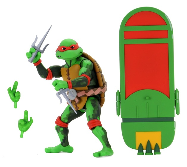 "TMNT: Turtles In Time - Raphael 7"" Action Figure"