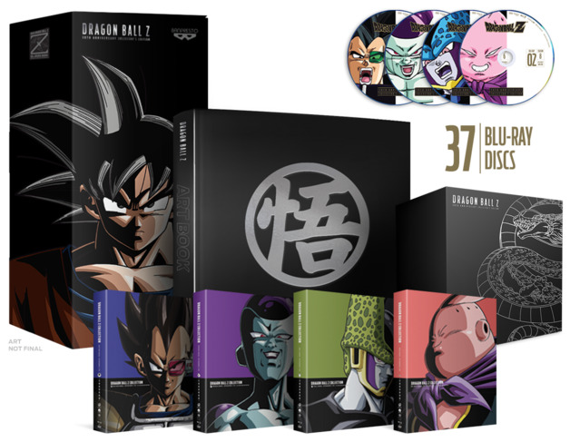 Dragon Ball Z: 30th Anniversary - Collector's Edition on Blu-ray
