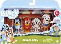 Bluey: S4 Figure 4-Pack - School Pack