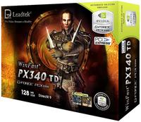 Leadtek Graphics Card WinFast PX340 TD 128M PX5300 PCIE image