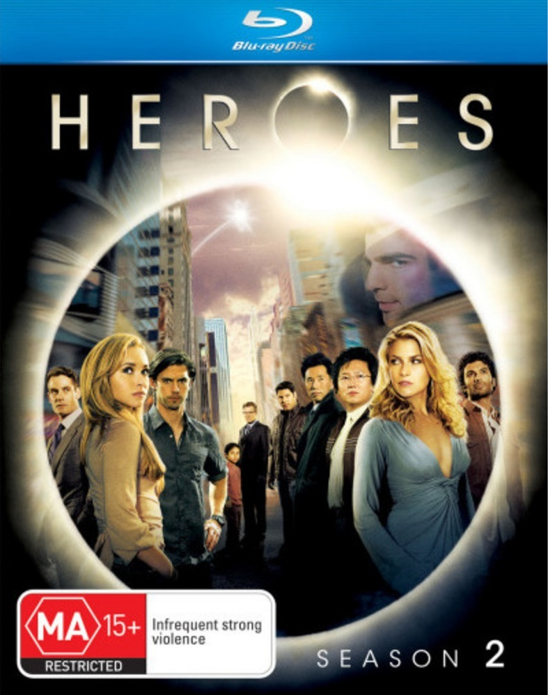 Heroes - The Complete Second Season on Blu-ray image