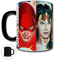 Justice League Collectors Morphing Mug (by Alex Ross)