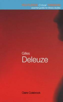Gilles Deleuze by Claire Colebrook