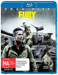 Fury on Blu-ray
