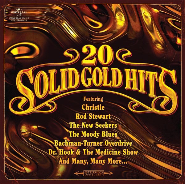 20 Solid Gold Hits by Various image