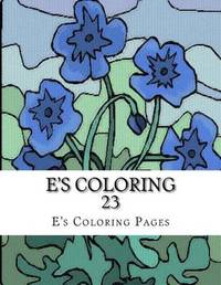 E's Coloring 23 by E's Coloring Pages image