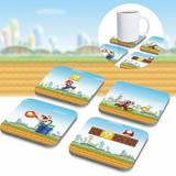 Super Mario 3D Coaster (8-Pack)