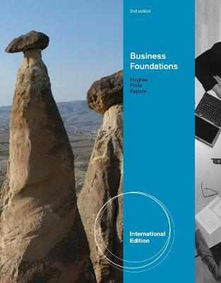 Business Foundations, International Edition by Robert J Hughes