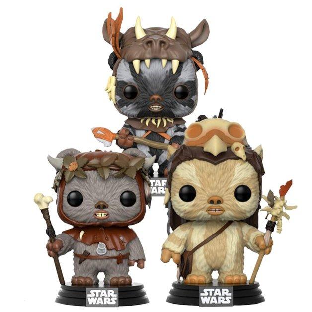 Star Wars: Ewok Collection - Pop! Vinyl 3-Pack