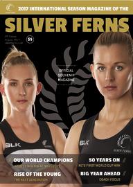 Silver Ferns Magazine 2nd Edition (August 2017)
