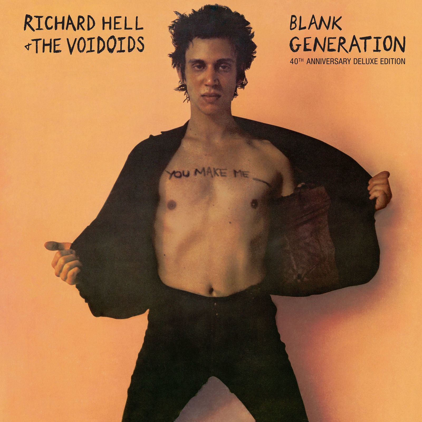 Blank Generation: 40th Anniversary Deluxe Edition (2CD) by Richard Hell & the Voidoids image