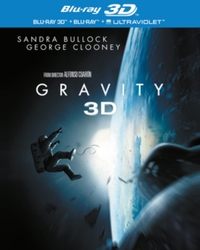 Gravity : 3D on Blu-ray