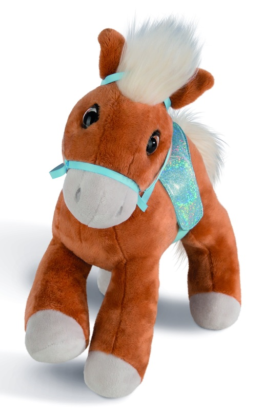 Nici: Horse Leotie with Saddle - 25cm Plush