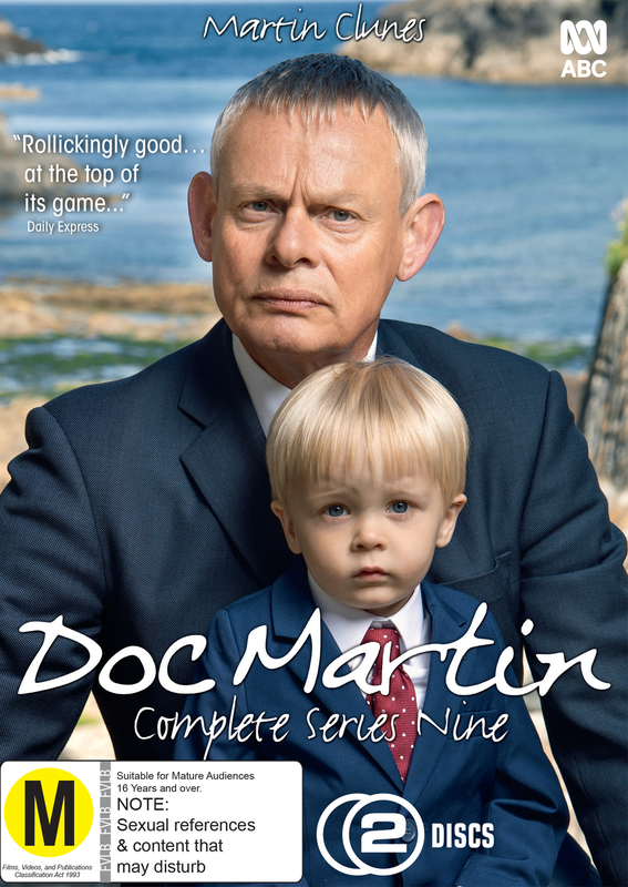 Doc Martin: The Complete Ninth Season on DVD
