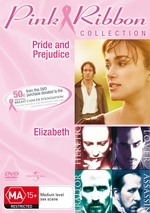 Pride & Prejudice (2005) / Elizabeth - Pink Ribbon Collection (2 Disc Set) on DVD