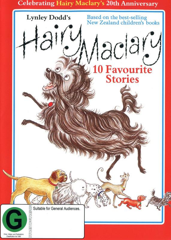 Hairy Maclary on DVD