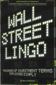 Wall Street Lingo by Nora Petersen image