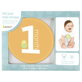 Pearhead - First Year Belly Stickers - Natural