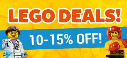LEGO DEALS! 10-15% off!