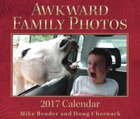 Awkward Family Photos 2017 Day-To-Day Calendar by Mike Bender